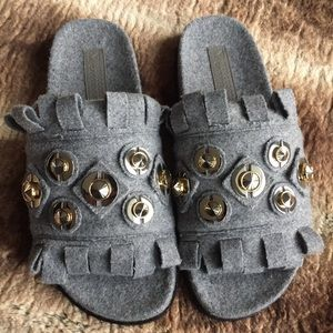 Mercedes Castillo Loula Sandals Gray